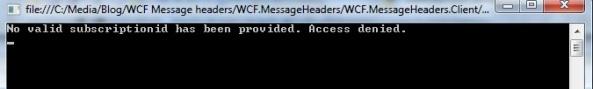 WCF Message header message inspector