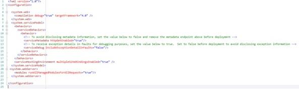 Default web.config