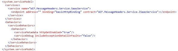 WCF Service configuration