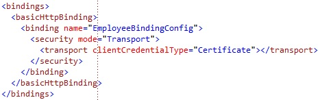 basicHttpBinding binding configuration