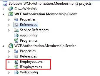 WCF Authentication and authorization with message security username