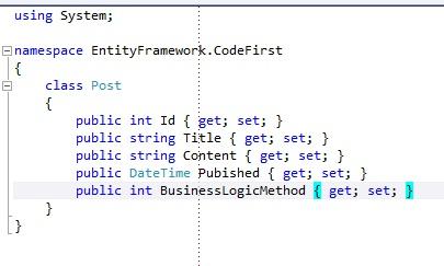 Entity Framework Code First ModelBuilder
