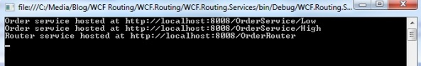 WCF Routing