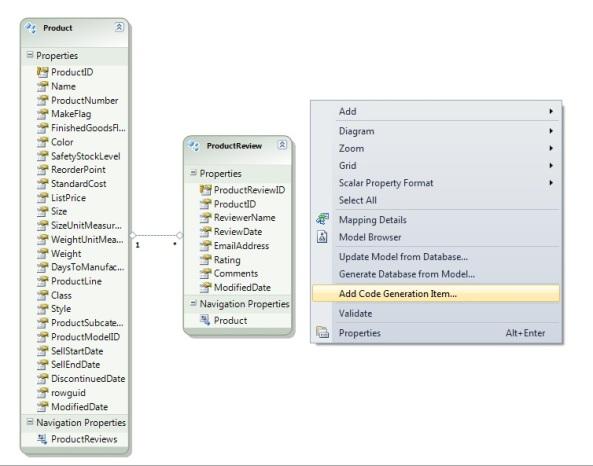 Entity Framework 4.1 DbContext Generator