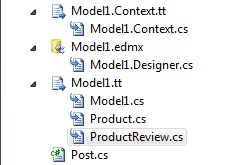 Entity Framework DbContext T4 template