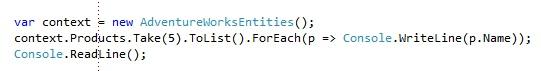Entity Framework 4.1