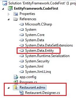 Entity Framework ADO.NET