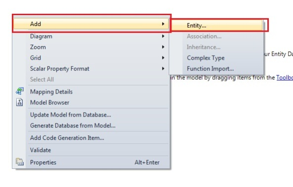 Entity Framework Add Entity
