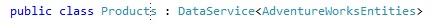 WCF DataService Entity Framework