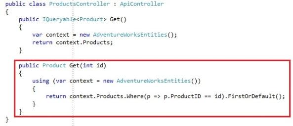 ASP.NET Web API REST