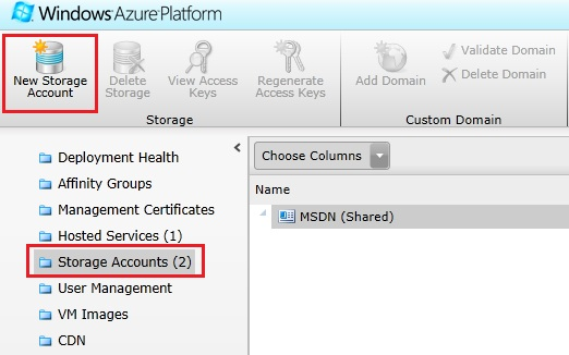 Storing data with Windows Azure Blob Storage with permissions and metadata