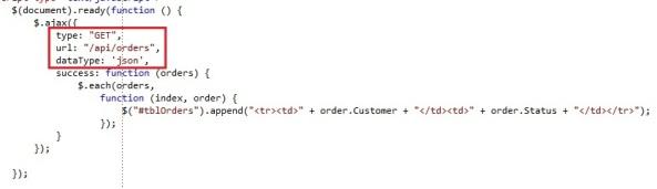 ASP.NET Web Api json information