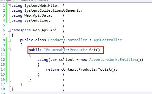 ASP.NET REST Web API