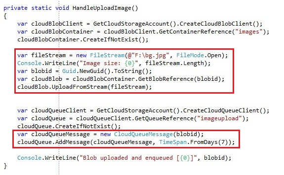 Using Windows Azure queue storage to build disconnected and reliable systems